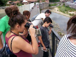 Avistamiento de aves en el río Güeña