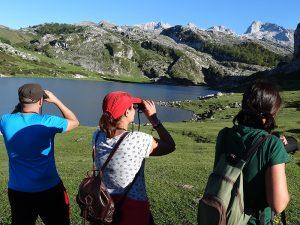 Birdwatching at Ercina Lake