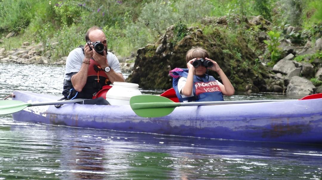 Ecoturismo en el descenso del río Sella