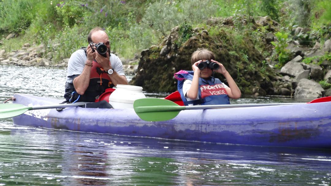 Ecotourism in the Sella River descent