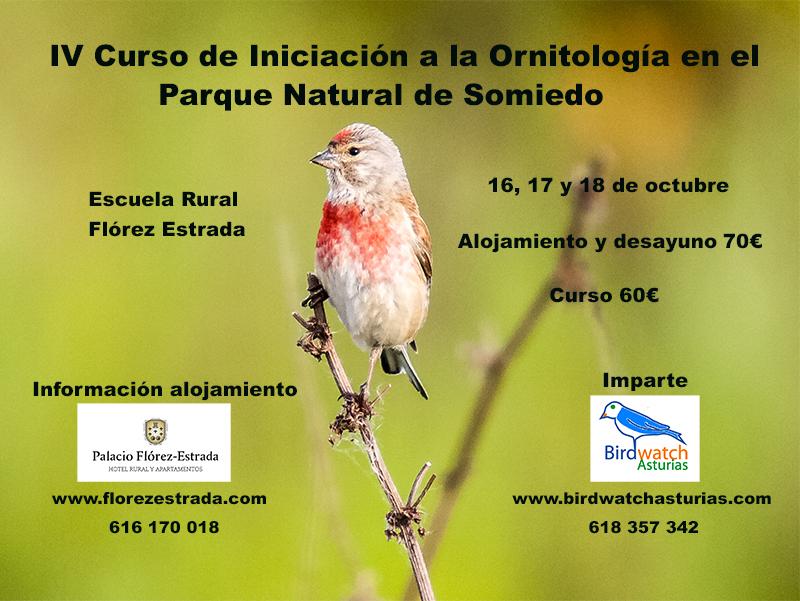 IV Curso de iniciación a la ornitología en el P. N. de Somiedo