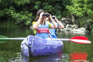 Birdwatch Asturias - birding from a canoe at Sella river