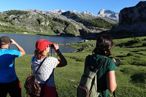 Birdwatching at Ercina Lake